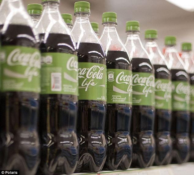 Green Coсa cola. Зеленая бутылка