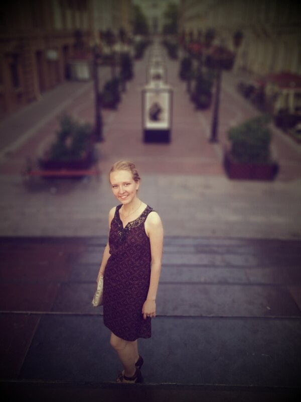Юлия Белякова, 23 года Уехала в Париж