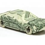 оригами из денег (1)