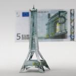 оригами из денег (2)