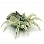 оригами из денег (3)