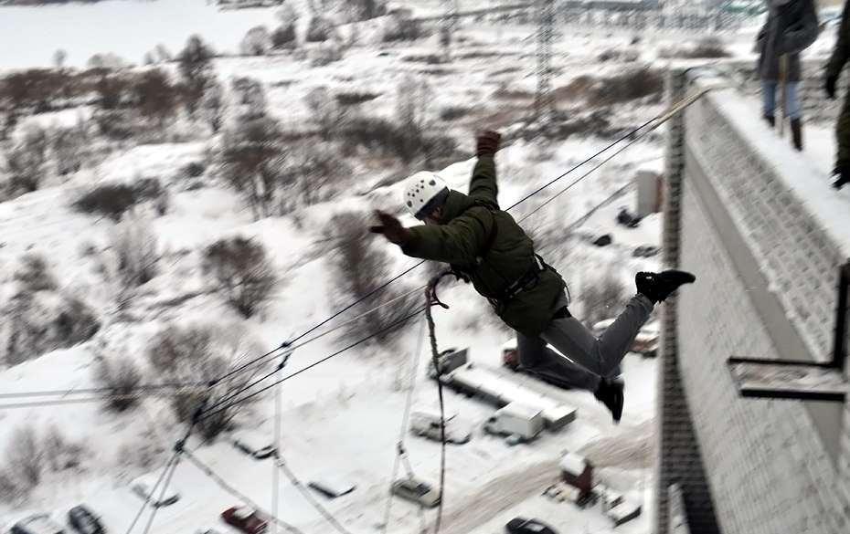 Роуп-джампинг_прыжок