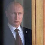 Президент России Владимир Путин ждет глав государств в начале саммита G20, 5 сентября 2013. Юрий Kaдобнов.