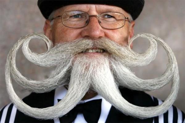 странная борода