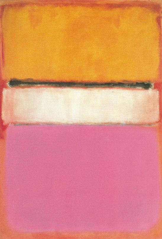 картина цветовое поле
