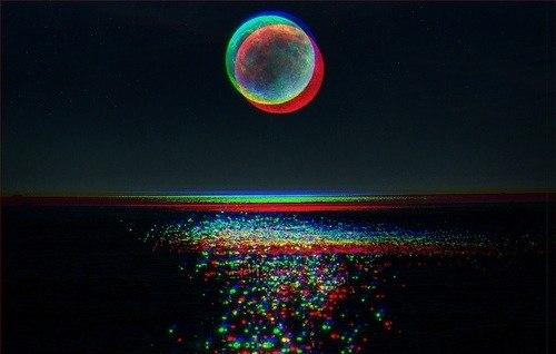 Луна уходит