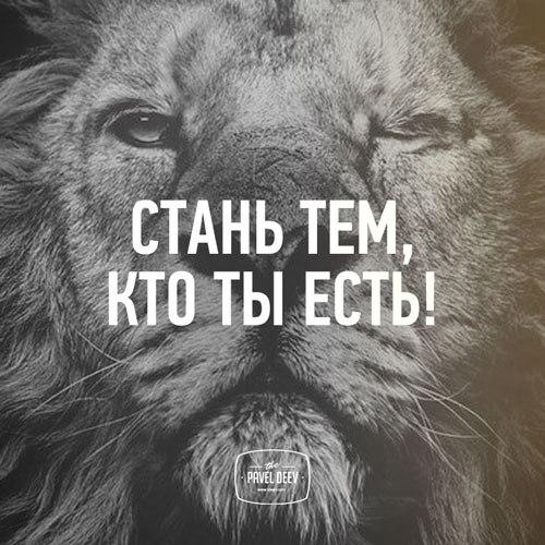Стань тем, кто ты есть!