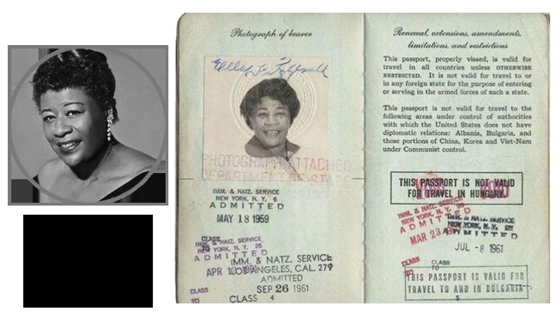 Паспорт Фиджеральд