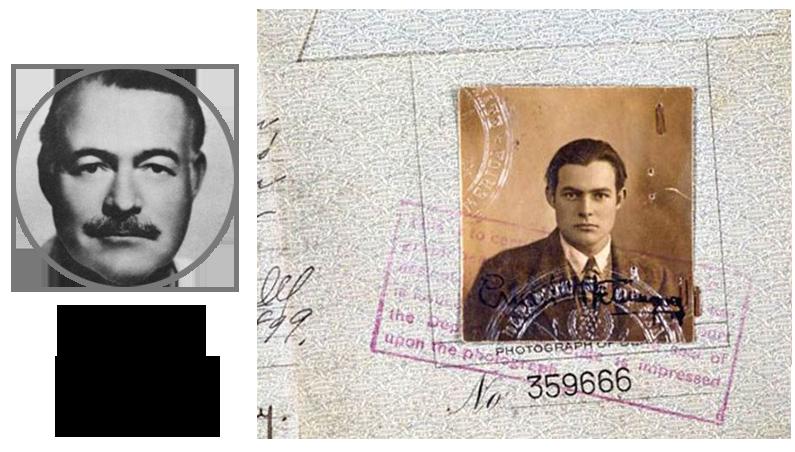 Паспорт Хемингуэй