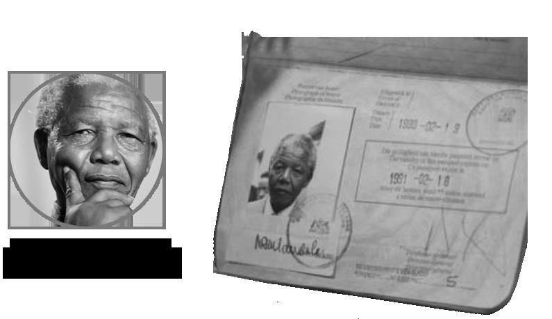 Паспорт Нэльсон Манделла
