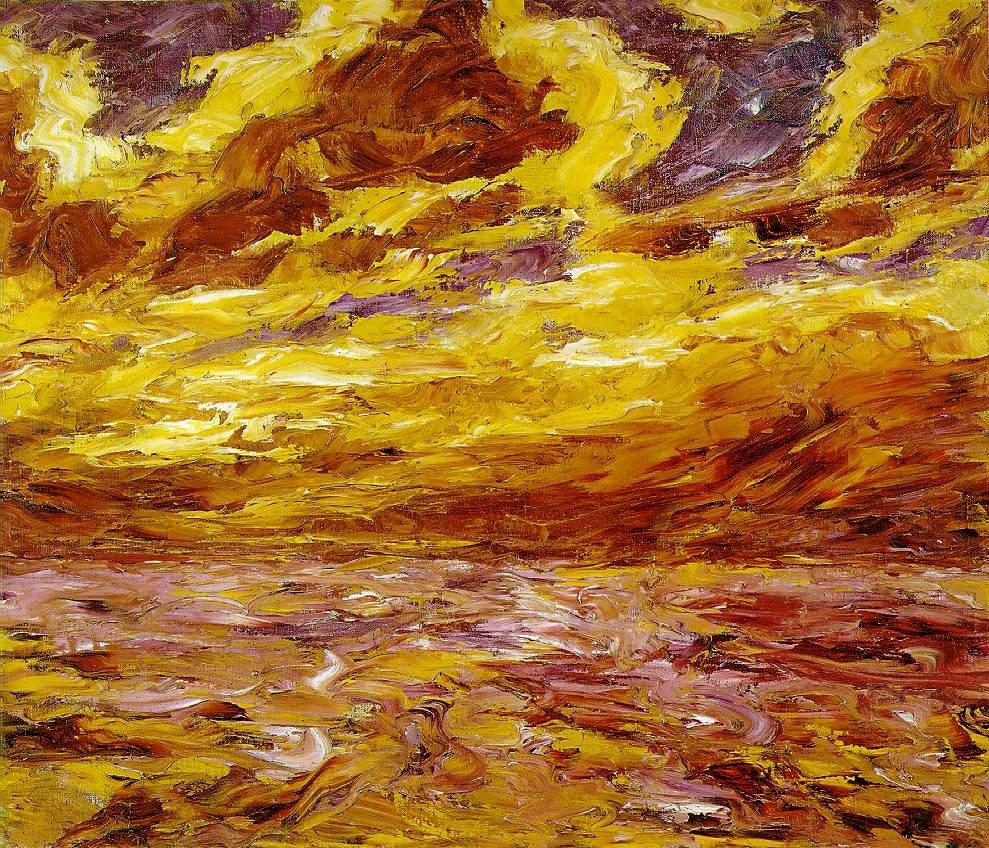 Э. Нольде «Осеннее море VII», 1910