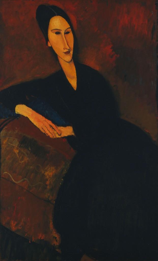 Anna Zborowska Модильяни